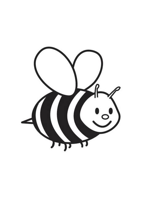 free printable bumble bee coloring pages for kids