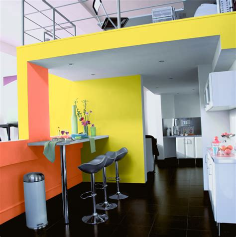 rideau fushia 526 d 233 co cuisine jaune et orange