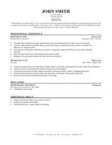 Template For Resume by 10 Free Resume Template Microsoft Word Resume Writing