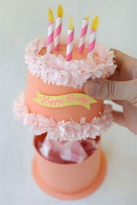 Diy Cake Happy Birthday Cake paper birthday cake box 14 pinspired diy birthday gift