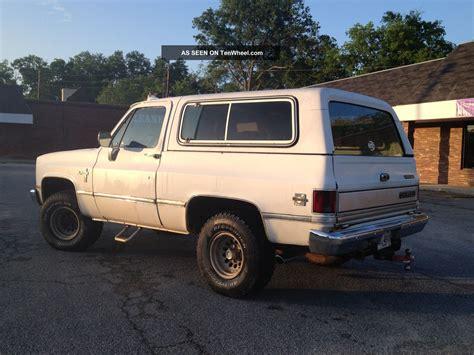 1986 chevrolet k5 blazer 1986 chevrolet k5 blazer silverado sport utility 2 door