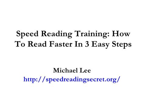 speed reading how to your reading speed and comprehension in less than 24 hours ã a scientific guide on how to read better and faster books speed reading how to read faster in 3 easy steps