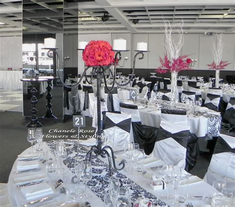 Damask Decorations by Chanele Flowers Sydney Wedding Stylist