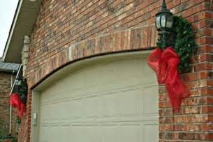 wreaths on garage door lights christmas crafts and christmas relate