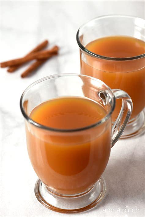 caramel apple cider recipe add a pinch
