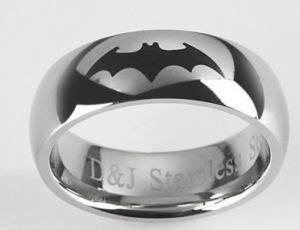 batman wedding rings batman wedding ring stainless steel