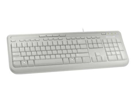 Keyboard Komputer Microsoft Microsoft Wired Keyboard 600 White Pc