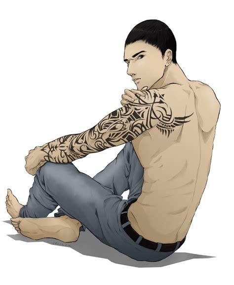 desmond miles tattoo by lillilolita on deviantart