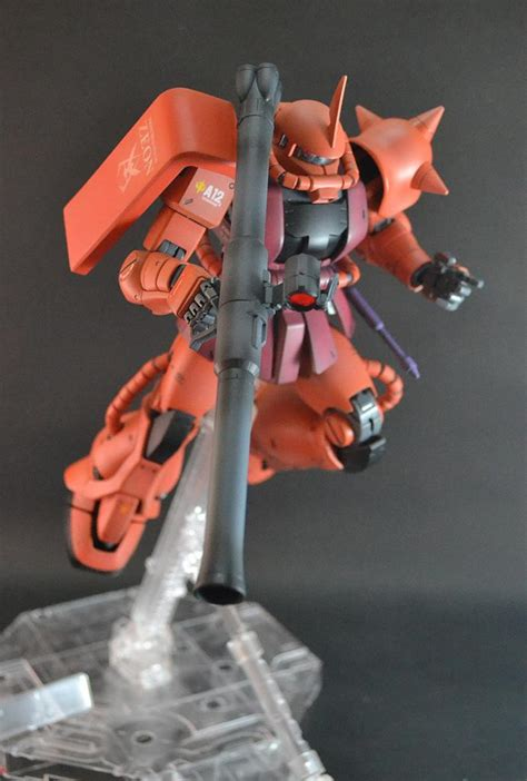 zaku ii char aznable custom paint build modeled  boonserm sojipun photoreview wallpaper size