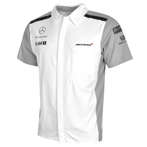 Polo Shirt One Logo 1 shirt replica teamwear mens formula one 1 team mclaren