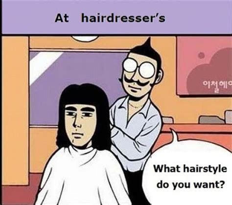 Hair Dresser Jokes by Tattos Fasion 2013 In A Barber Shop Hairdresser Diong