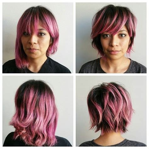 growing out an asymmetrical bob asymmetrical haircut growimg out mulpix to make grown out