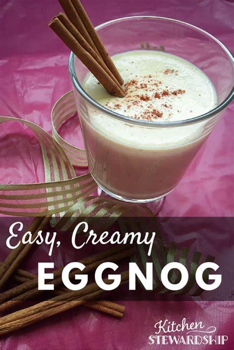 eggnog recipe easy eggnog recipe