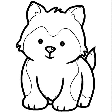 puppy coloring pages images puppy outline coloring page coloring home