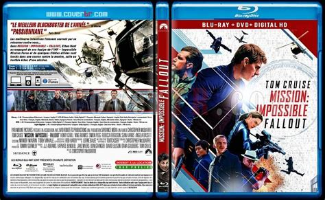 mission impossible fallout french mission impossible fallout custom bluray cover