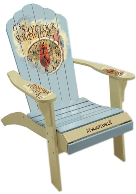 margaritaville adirondack chair cing station margaritaville painted quot 5 o clock time