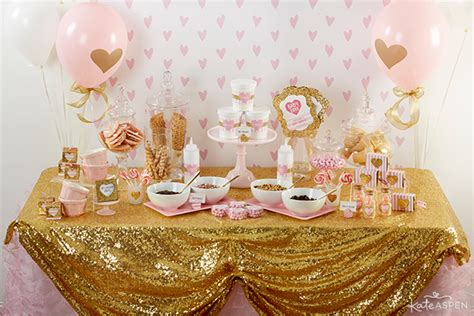 pink and gold bridal shower theme pink and gold baby shower for pennies