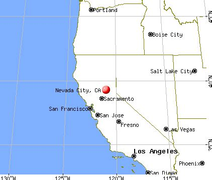 california map nevada city nevada city california map picture to pin on