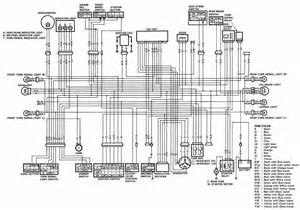 suzuki dr650 motorcycle complete electrical wiring diagram all about wiring diagrams