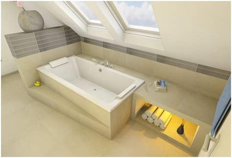 dachschräge badewanne badewanne dachschr 228 ge duschvorhang hauptdesign