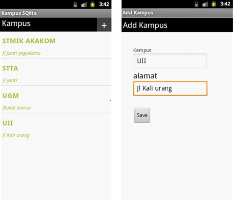 tutorial android crud candralab