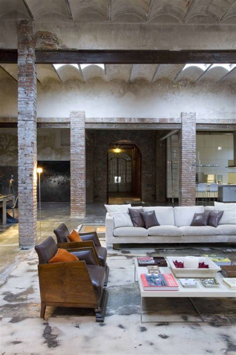 home interior warehouse loft barcelona warehouse conversion 5 living room panda s house