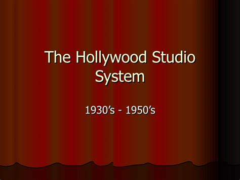 studio system the hollywood studio system updated