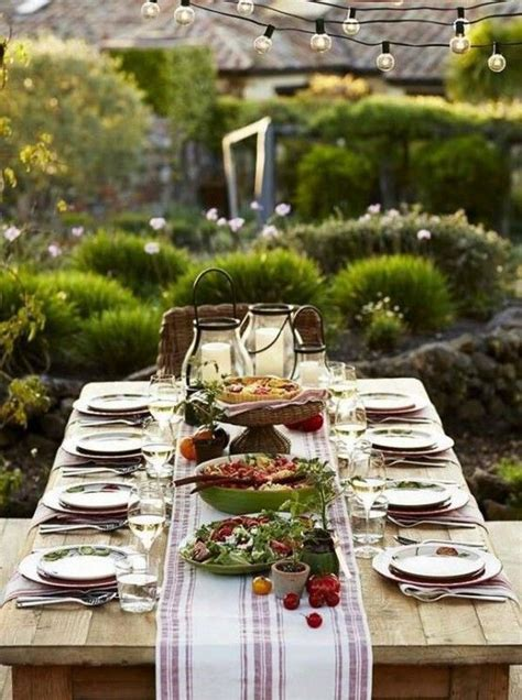 Patio Table Decor 37 Awesome Midsummer Table Settings Digsdigs Intimacy Awesome Summer And