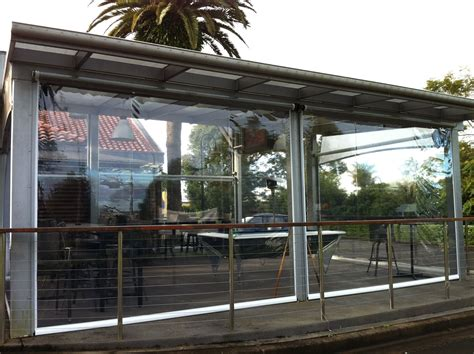 pvc awnings creative blinds awnings ziptrak motorised clear pvc awningscreative blinds