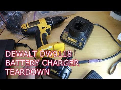 dewalt charger repair dewalt battery charger repair dw9116 doovi