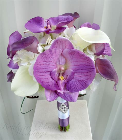 Wedding Bouquet Orchids by Wedding Bouquets Orchids And Calla Lilies Www Imgkid