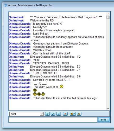 aol chat rooms junk dinosaur dracula