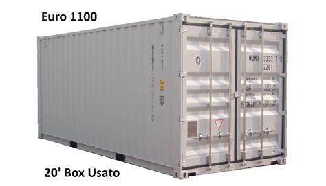 container dimensioni interne containerr box produzione azienda certificata iso 9001