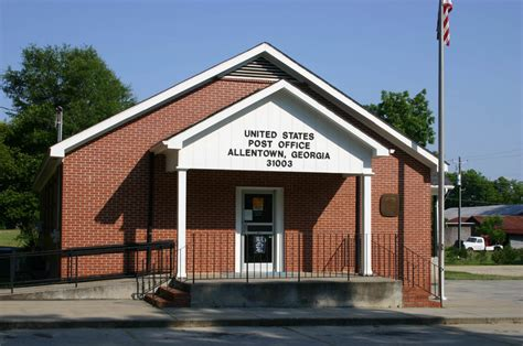 Post Office Near Me Zip Code by Allentown Ga Post Office Photo Picture Image