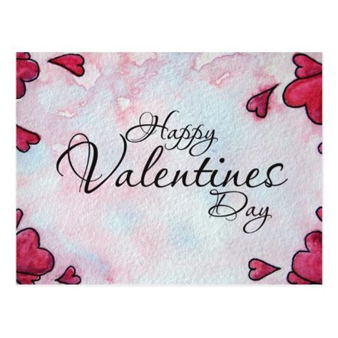 valentines day post happy valentines day postcard zazzle