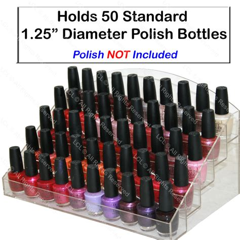 Plastic Nail Rack by New Acrylic Nail Table Counter Top Display Rack
