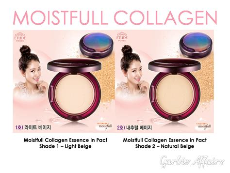 Moistfull Collagen Essence In Pact etude house
