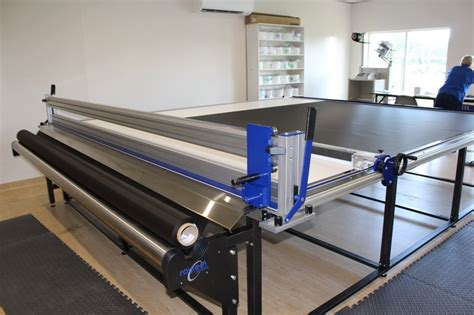 textile cutting tables cutting welding and fusing