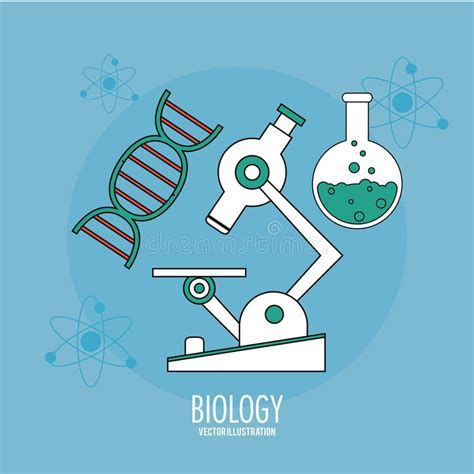 concept design with a living lab approach biology design lab icon flat illustration vector stock