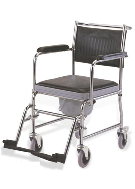 Handicap Stools With Wheels by Bathroom Commode Chair For Elderly Wheelchair