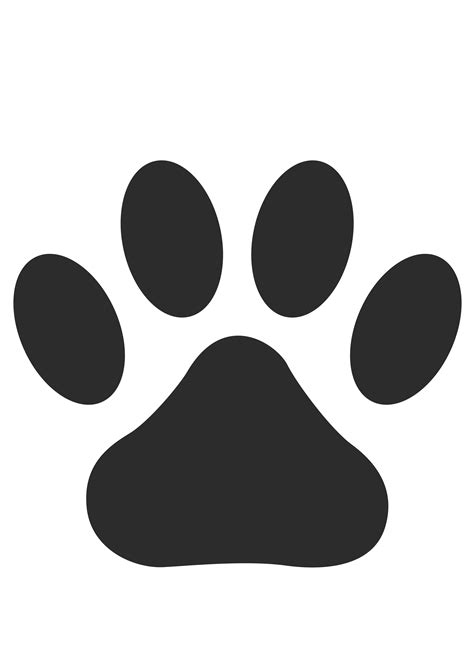 paw print clip clipart paw print