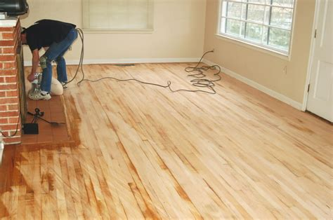 Wood Floor Sanding by Should I Refinish Own Hardwood Floors