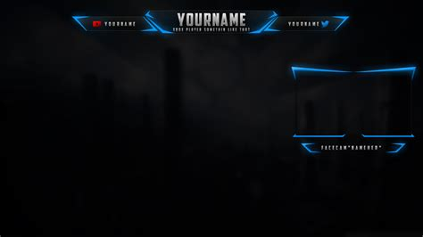 twitch layout template 14 custom twitch overlays psd images twitch overlay