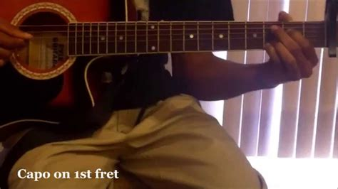 tutorial guitar what do you mean what do you mean guitar tutorial easy acoustic guitar