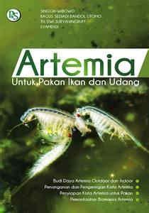 Pakan Udang Laut buku artemia untuk pakan ikan dan udang penebar swadaya