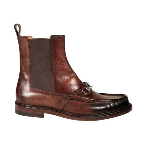 gucci s shoes horsebit moccasin brown boots ggm3000