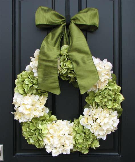 Hydrangea Wreaths For Front Door Hydrangea Wreaths Summer Hydrangea Blooms 22 Hydrangea