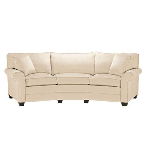 conversational sofa fun upscale sofas bennet conversation sofa
