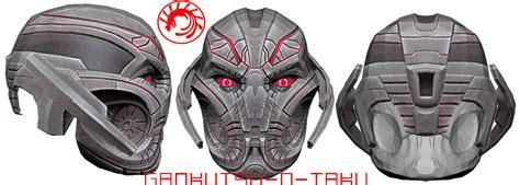 Iron Mask Papercraft - ultron prime pepakura by gankutsu o taku on deviantart