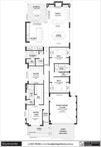 floor plans for narrow lots single story narrow lot house plans floor plans for